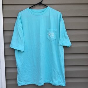 Southern Fried Cotton men's mint green tee shirt